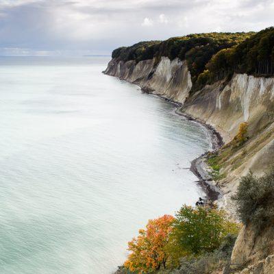 Rügen Jasmund Kreideküste Herbst Küstenimpression